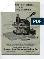Kingsley Instructions