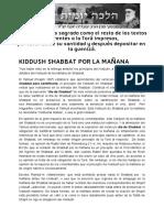 KIDDUSH SHABBAT POR LA MAÑANA _ Halajá Diaria Según La Opinión de Marán Rabí Ovadiá Yosef ZT_L
