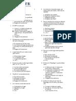 Cuestionario de Well Testing JGPC