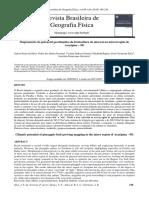 Mapeamento do potencial geoclimático da fruticultura do abacaxi na microrregião de Araripina – PE