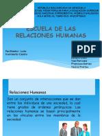 Escuela de Las Relaciones Humanas-1