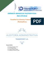 Proyecto de Auditoría Administrativa