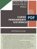 LA EXPORTACI€¢Ã'³N DE ESP€¢Ã'¡RRAGOS EN EL PERU