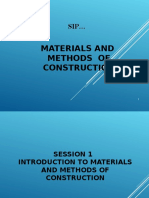 Session 1 - Fundamental of Building Construction