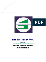 The Initiates Plc Half Year Acct 2015