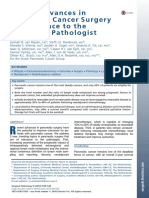 Recent advances in pancreatic cancer surgery of relevance to the practicing pathologist