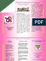 folleto sexualidad