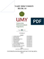 Plenary Discussion Blok 14