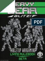 HeavyGearBlitz Tabletop Wargaming Living Rulebook Beta eBook September30th2015Update