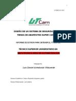 UTDRE-53 Informe de Estadía