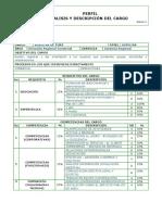 22. Perfil Auxiliar de PQRS