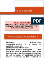 Ethics and Business_