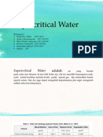 Supercritical Water