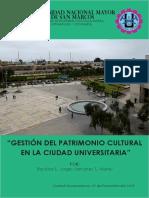 Gestion Del Patrimonio Cultural en La Ciudad Universitaria