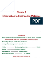 Module 1, Intro to Engg Materials (1)