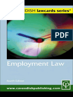 Cavendish Employment LawCard 4ED Lawcards