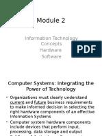 Module 2 (Ch3,4)