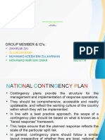 National Contingency Plan