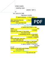 Evidence Cases List (1)