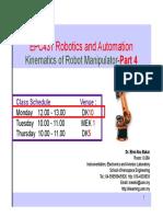 W3 2016 4_EPC 431_Kinematics of Robot Manipulator Part4 Revised