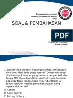 SOAL & PEMBAHASAN