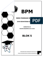BPM Blok 5 Tahun 2015