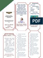 Leaflet Latihan Teknik Nafas Dalam Zakiah Docx