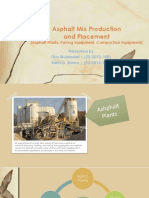 Asphalt Mix Production