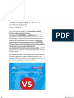 Liferay vs. Websphere- Total Cost of Ownership Examined - Veriday