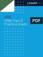 FRM PracticeExam PartII