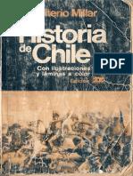 Historia de Chile, Walterio Millar, 1991