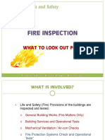 Fire Safety - Fire Inspection