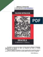 Valeriu Butulescu Dracula Carnavalul Durerii