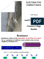 Electrolytic Conductance