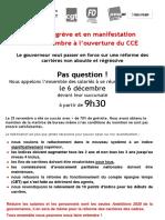Grève Banque de France Cahors Le 6 Décembre 2016