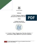 Se Comp Kjsce Syllabus (2015-16)
