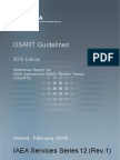OSART Guidelines 2015