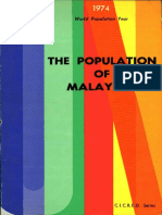 The Population of Malaysia 1930, 1931