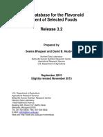 USDA Flavonoid