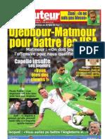 LE BUTEUR PDF du 20/06/2010