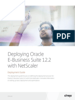 Deploying Oracle Ebusiness Suite 122 With Netscaler