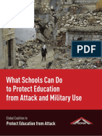 What Schools Can Do to Protect Education from Attack and Military Use