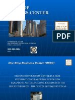 One-Stop Biz Ctr PPT May 2010