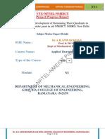 Module 6 Reciprocating COMPRESSOR