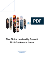 TheGlobalLeadershipSummit2016ConferenceNotes-1