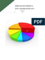 informe INFOESTA2015