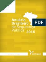 Anuário Brasileiro de Segurança Pública 2016