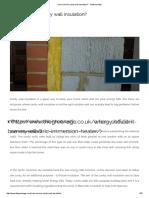 Can I Remove Cavity Wall Insulation_ - TheGreenAge