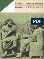 (Biblioteca Pentru Toti) Epictet & Marcus Aurelius-Manualul & Catre Sine-Minerva (1977)