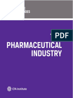 CFA - The Pharmaceutical Industry